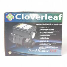 More details for cloverleaf pond heater 1kw or 2kw heating weather proof fish koi pond heat