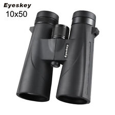 Eyeskey 10x50 Waterproof Binoculars Ultra HD with BAK-4 Prisms and FMC Lens