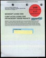 Microsoft Terminal Server RDS 2008 10 User/Device CAL License
