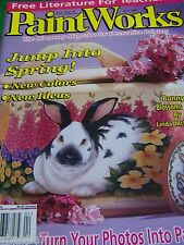 PAINTWORKS APRIL 1999 MAGAZINE JUMP INTO SPRING PROJECTS IDEAS TOLE PAINT