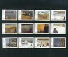 CANADA  1984 Paintings by Jean Paul Lemieux Set of 12 SG 1123a-1123l  MNH   Sale