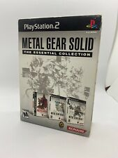 Metal Gear Solid: The Essential Collection (Sony PlayStation 2). Complete. PS2.