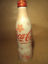 COCA COLA - COKE - FLOWER DESIGN BOTTLE 250ML - LIMITED EDITION - NEW - JAPANESE