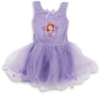Disney Princess Sofia Girls Kids Fancy Dress Up Costume Party Outfit Offical