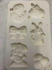 Lakeland Molds 164 EASTER Magnets- Ceramic Mold Slip Casting Ceramics