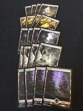Full art Swamp x20, Battle for Zendikar, MTG