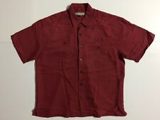 Destinations Snap-on Racing MIKE Garage Work Shirt Men L Large Red S/S