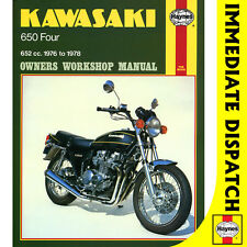 [0373] Kawasaki Z650B1 KZ650B1 Fours 1976-78 Haynes Workshop Manual