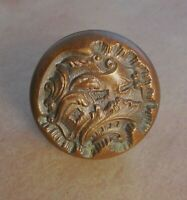 """Antique Reading """"Belfort"""" cast bronze brass door knob ornate vintage 1900"""