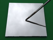 "First Surface Mirror 3"" Square 3x3 aluminized 1/8"" glass FS FSM front"