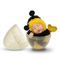 Anne Geddes 579310 Baby Bee 9 inch Doll in Gold Glitter Egg NEW in 2020 BNIB