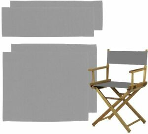 Counting Mars 2 Set Replacement Cover Canvas for Directors Chair, 20cm X 52cm +