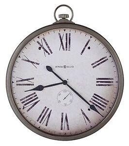 "HOWARD MILLER - 35"" GALLERY WALL CLOCK -GALLERY POCKET WATCH-625-572"