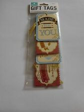 Paper House Gift Tags Made With Love Homemade For You Baking Utensils Chipboard