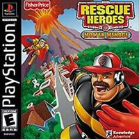 Rescue Heroes Molten Menace Playstation Game PS1 Used Complete