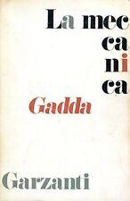 Gadda Carlo Emilio LA MECCANICA