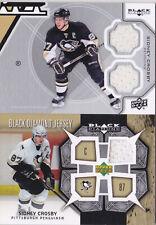 12-13 Black Diamond Sidney Crosby Double Jersey Penguins 2012