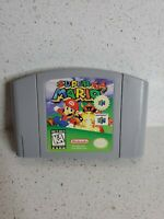 Super Mario 64 (Nintendo 64, 1996) Players choice Authentic tested works clean
