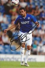CHESTERFIELD * SAM HIRD SIGNED 6X4 ACTION PHOTO+COA