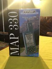 Magellan Map 330 Handheld GPS Geocaching Marine Fishing Hiking Trail Receiver
