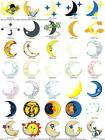 742 CELESTIAL ZODIAC SPACE COLLECTION  EMBROIDERY MACHINE DESIGNS PES HOROSCOPES
