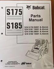 Bobcat  S175, S185 Skid Steer Parts Catalog Manual 6901856