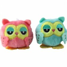 9cm Plush Animals Cute Pendant Kawaii Owl Plush Toys Keychain Dolls for Kids