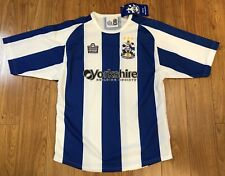 BNWT 2005 Admiral Huddersfield Town Jersey Soccer Football Shirt Youth Junior L