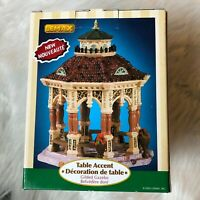 Lemax Table Accent Gilded Gazebo 2005 Village Collection 53532
