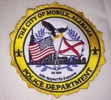 MOBILE ALABAMA POLICE PATCH *(New Design 2016)*