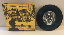 "Misled Youth - Excuse For Existence 7"" (Black/500)"
