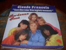 """CLAUDE FRANCOIS bordeaux rose ( world music ) 7""""/45 picture sleeve"""