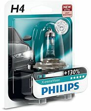 Philips X-Treme Vision H4 +130% P43t 12342XV + B1 1 PEZZI PREZZO