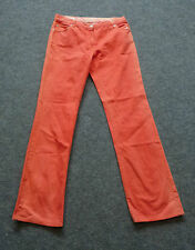 René Lezard Hose Koralle Gr. 40 Jeans Jeanshose Designer Stylish neu