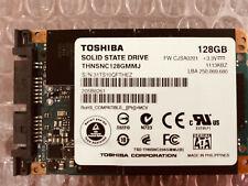 "Toshiba THNSNC128GMMJ 1.8"" 128GB Micro SATA SSD 3Gb/s MLC Solid State Drive"