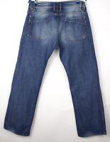 Diesel Hommes Kardeef Jeans Jambe Droite Taille W34 L30 ARZ765