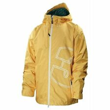 THIRTYTWO Men's SHILOH Shell Snow Jacket - Yellow - Large - NWT