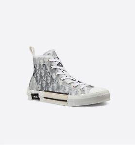 Christian Dior B23 Sneaker Haute Toile Transparente Dior Oblique Unisexe Baskets