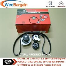 PEUGEOT 206 207 307 308 CC SW 1.6 16v GATES KP25581XS Timing Belt Kit Water Pump