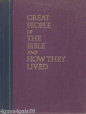 Great People of the Bible and How They Lived by Reader's Digest Editors (1974 HB
