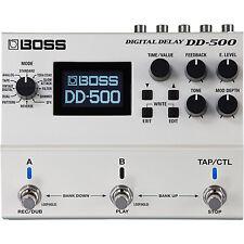 BOSS DD-500 Digital Delay Stompbox Effects pedal DD500 Free Shipping