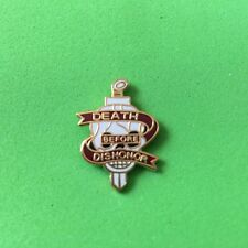 Death Before Dishonor Hat/Lapel Pin