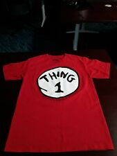 Universal Studios Dr Seuss Thing 1 T-Shirt Adult Size Small