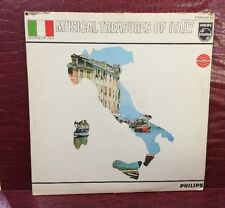 Musical Treasures of Italy  Philips Stereo LP Gold Labels PHI 426
