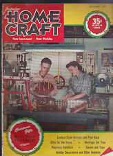 Popular Home Craft Magazine Building Christmas Gifts December 1947