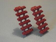LEGO - 2 Rosso Scuro scale 7 x 4 x 6 (30134)