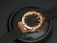 Hublot Classic Fusion 18kt Rose Gold 38mm Quartz Black Dial 561.PX.1180.RX