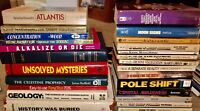 LOT OF 25 ASTROLOGY BOOKS ZODIAC CRYSTALS PSYCHIC WORLD EDGAR CAYSE TAROT LOOK!
