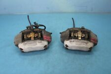 2004 MERCEDES-BENZ CL500 W215 #4 FRONT RIGHT + LEFT BRAKE CALIPERS 2PC PAIR OEM