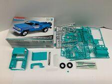 Monogram 1:24 Scale Blue Chevy Sport Pick-Up 4x4 Plastic Model Kit w/Box *READ*